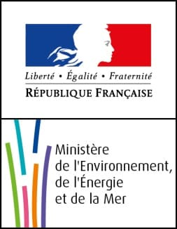 logo du minister sur l'environnement et l'énergie mer