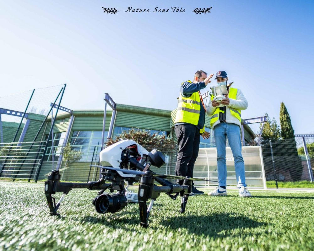 Formation pratique pilote drone