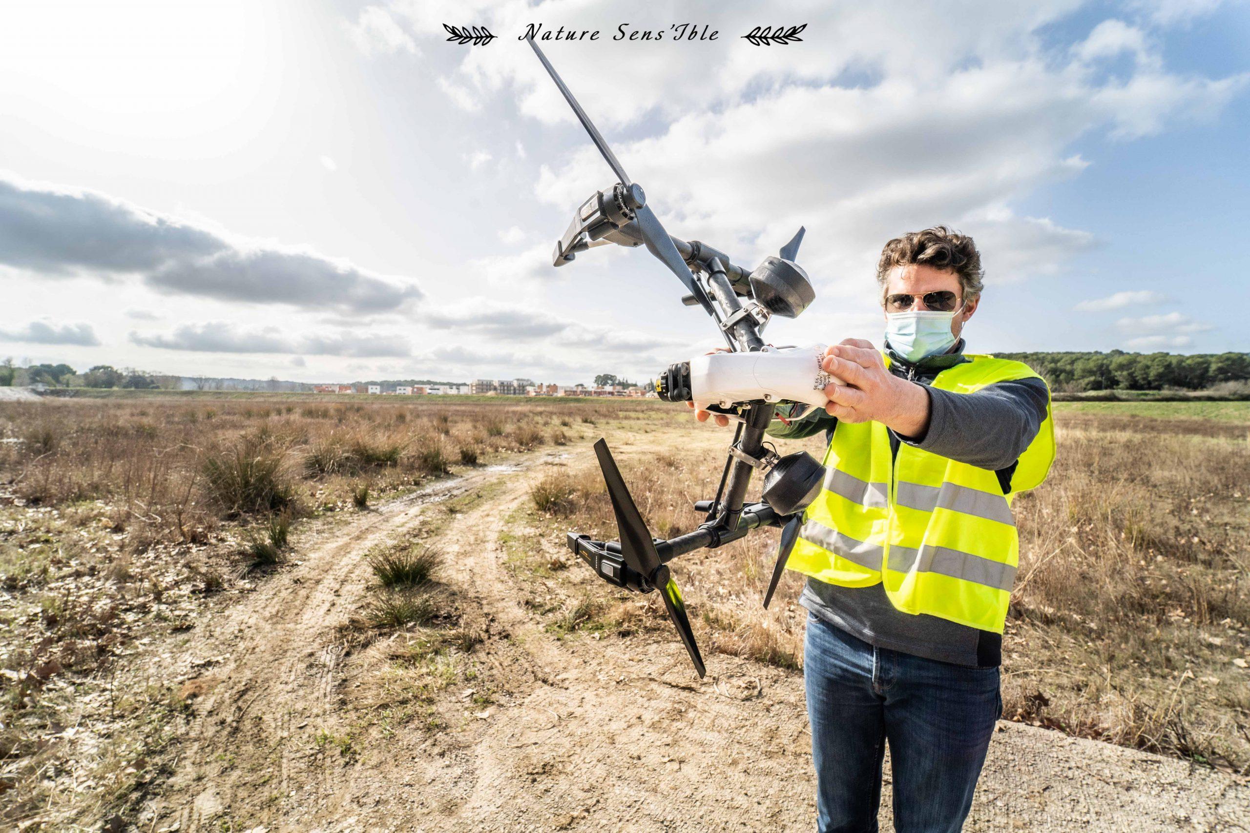 Formation professionnelle pilote drone